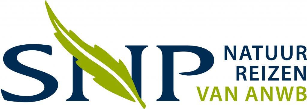 logo SNP natuur reizen van ANWB