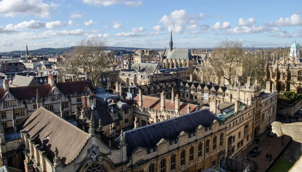 Stedentrip Oxford Cambridge in Engeland