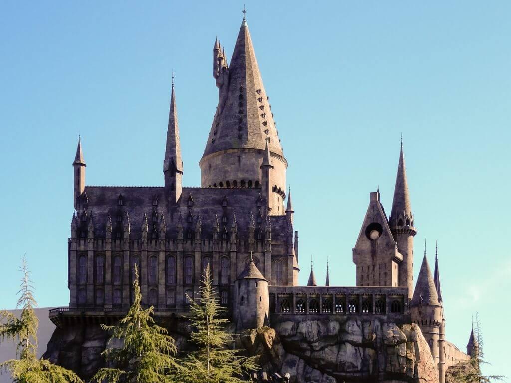 Harry Potter reis naar Engeland