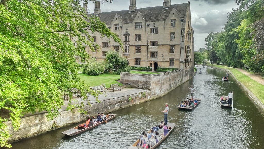 citytrip naar cambridge in engeland