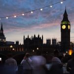 Big Ben Nacht Londen